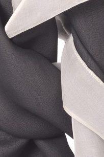 Etole gris marron detail